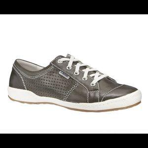 Josef Siebel Caspian Gray Leather Sneaker (8)